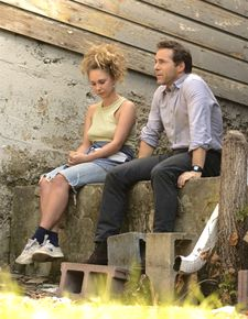Alessandro Nivola with Juno Temple in Liz W. Garcia's One Percent More Humid