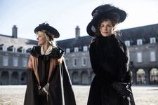 "Kate Beckinsale as Lady Susan Vernon with Alicia (Chloë Sevigny) in ‪Love & Friendship‬: ""Alicia comes from Jane Austen. But I accept very much Alice as a significant name for me because my favorite people were a Scottish couple ..."""