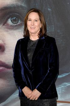 Kathleen Kennedy - pictured at a London screening of Rogue One - spearheaded the commission