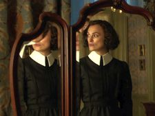 "Wash Westmoreland on Colette (Keira Knightley): ""The mirrors reflect often what Colette is focusing on."""