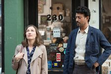 Kelly Macdonald is Agnes with Robert (Irrfan Khan)