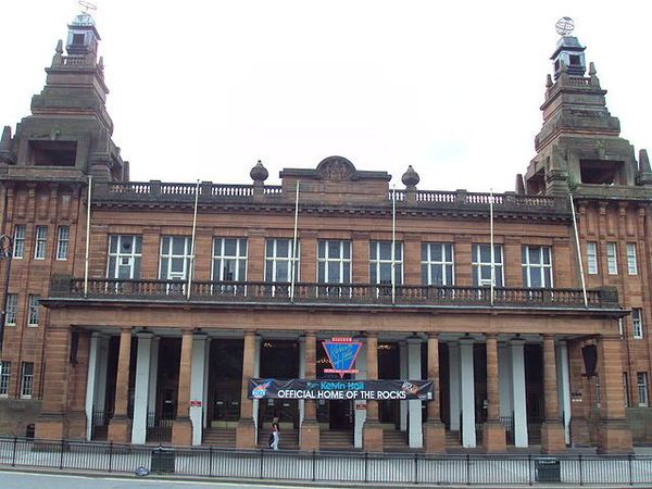Kelvin Hall, Glasgow - soon to be home to the Scottish Moving Image Archive.