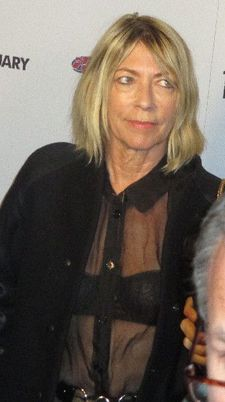Sonic Youth's Kim Gordon on the The Two Faces Of January red carpet