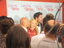 Ben Kingsley with executive producer Gabriel Hammond as Patricia Clarkson catches my eye