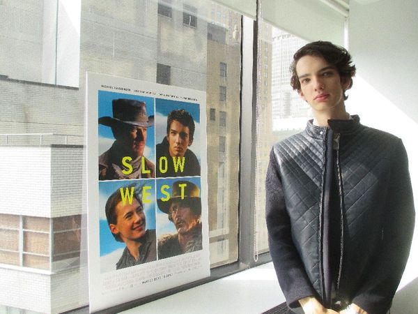 John Maclean's Slow West star Kodi Smit-McPhee on God and art, not Jean-Luc Godard