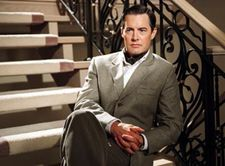 Kyle MacLachlan in the spirit of Cary Grant for Touch of Pink