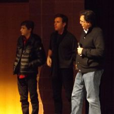 Tye Sheridan, Ewan McGregor and Rodrigo García at the Sundance Q&A