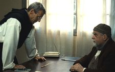 Lambert Wilson and Michael Lonsdale in Of Gods And Men, shot by Caroline Champetier
