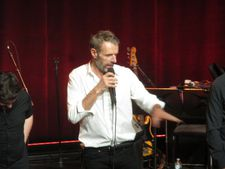Lambert Wilson sings Yves Montand at the French Institute Alliance Française in New York.