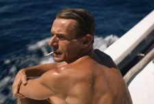 Lambert Wilson as Jacques Cousteau in Jérôme Salle's The Odyssey (L'Odyssée)