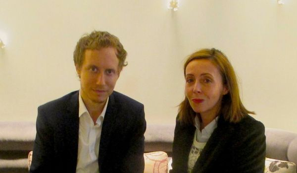 Son Of Saul (Saul Fia) director László Nemes with Anne-Katrin Titze