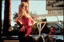 Laura Dern as Lula and Nicolas Cage as Sailor in Wild At Heart