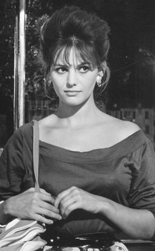 Claudia Cardinale as she appeared in Valerio Zurlini's The Girl With The Suitcase in 1960