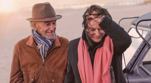Jean-Louis Trintignant and Anouk Aimée in The Best Years Of A Life