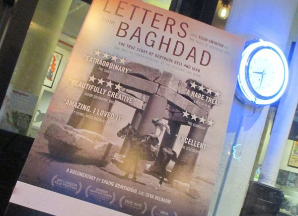 Wonder women Thelma Schoonmaker and Tilda Swinton are executive producers of Sabine Krayenbühl and Zeva Oelbaum's Letters From Baghdad