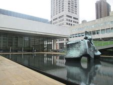 Henry Moore at Lincoln Center, home of the New York Film Festival