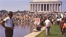 Lincoln Memorial 1963 March on Washington for Jobs and Freedom