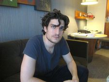 "Louis Garrel at Le Parker Meridien: ""I called him yesterday. I noticed he came last year."""