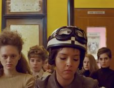 Lyna Khoudri in Wes Anderson's The French Dispatch. 'It was a bit like being plunged into Disneyland'