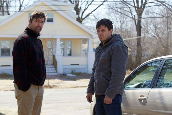 Kyle Chandler and Casey Affleck in Manchester By The Sea - after his older brother passes away, Lee Chandler is forced to return home to care for his 16-year-old nephew. There he is compelled to deal with a tragic past that separated him from his family and the community where he was born and raised.