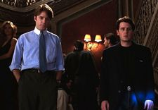 "Whit Stillman on Jimmy (Mackenzie Astin) here with Des (Chris Eigeman): ""I think probably Alice was going to end up with Jimmy."""
