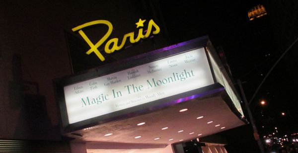 Woody Allen's Magic In The Moonlight world premiere at The Paris Theatre