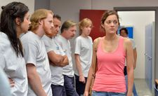 "Marion Cotillard as Sandra at work: ""She is looking for solidarity."""