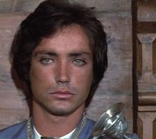 The young Udo Kier as he appeared in Mark of the Devil in 1970