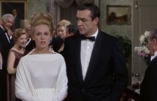 Tippi Hedren (Dakota Johnson's grandmother) is blackmailed into marriage in Marnie.