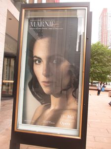 Marnie opera poster at Lincoln Center starring Isabel Leonard