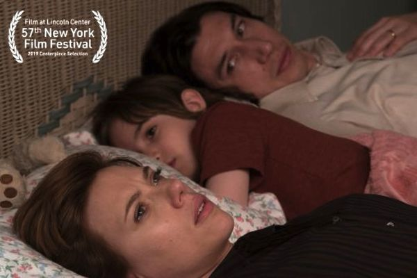 Noah Baumbach's Marriage Story, starring Scarlett Johansson and Adam Driver, is the Centerpiece selection of the 57th New York Film Festival