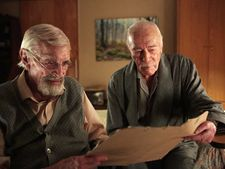 Atom Egoyan's Remember: Zev (Christopher Plummer) with Max Rosenbaum (Martin Landau)