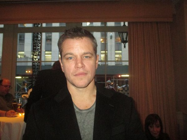 "Matt Damon: ""We didn't name the dog."""