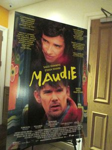 Maudie US poster at the Crosby Street Hotel