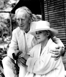 "Jeanne Moreau (Edith) with Max von Sydow (Henry Farber): ""She was absolutely marvelous and wonderful to work with."""