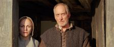 Maxine Peake and Charles Dance as Fanny and John