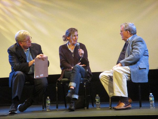 Janis: Little Girl Blue director Amy Berg addresses D.A. Pennebaker with Michael Winship