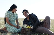 Misty Upham as Jane with Benicio Del Toro as Jimmy P