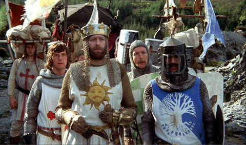 Monty Python And The Holy Grail, directed by Terry Jones and Terry Gilliam