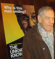 Morley Safer, with a smile: