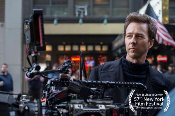 "Edward Norton on his Motherless Brooklyn in the 57th New York Film Festival: ""To have this particular film - which grew out of my love affair with New York - selected for Closing Night is just a huge thrill."""