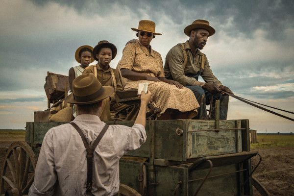 Garrett Hedlund, Mary J Blige and Rob Morgan in Mudbound - in the post–Second World War South, two families are pitted against a barbaric social hierarchy and an unrelenting landscape as they simultaneously fight the battle at home and the battle abroad. This epic pioneer story is about friendship, heritage and the unending struggle for and against the land.