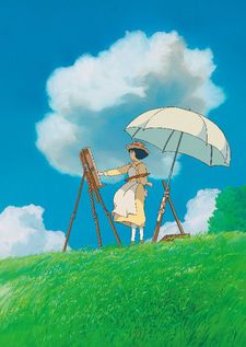 "Naoko in Miyazaki's The Wind Rises - ""…kind of an evocation of impressionist paintings in the textures."""