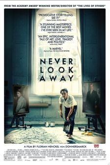 Never Look Away poster - opens in New York at The Paris Theatre on January 25