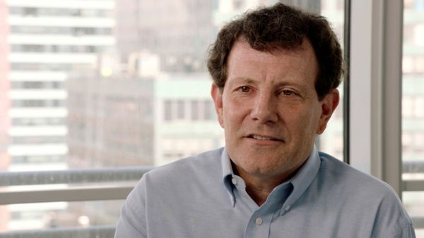 Two-time Pulitzer Prize winner New York Times columnist Nicholas Kristof in The Pulitzer At 100
