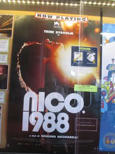 Nico, 1988 poster at Film Forum in New York
