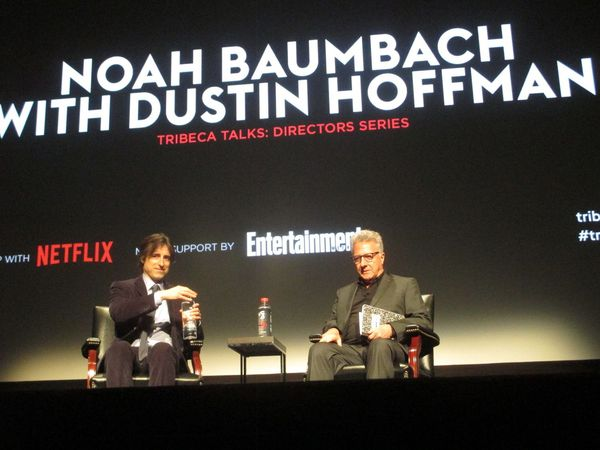 Tribeca Talks: Directors Series with Noah Baumbach and Dustin Hoffman