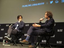 "Jake Paltrow with Noah Baumbach in response to Vertigo looming large: ""I love Brian's thing about it being a language."""