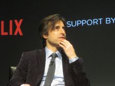"Noah Baumbach: ""Well, I think, since I'm sitting on this stage with you talking to me, it's gone pretty well."""