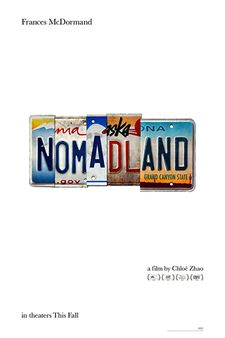 Nomadland is the Centerpiece selection in the Main Slate program of the New York Film Festival